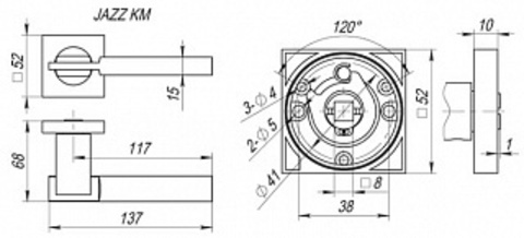JAZZ KM SN/CP-3  Схема