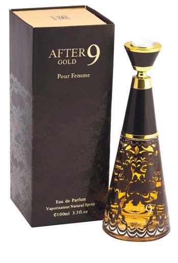 Пробник для After 9 Gold Афтер 9 Голд парфюмерная вода жен. 1 мл от Эмпер Emper