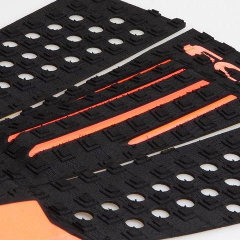 Коврик для серфборда FCS Julian Wilson Black/Orange