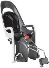 Детское велокресло с наклоном Hamax Caress с замком серый/белый/черный