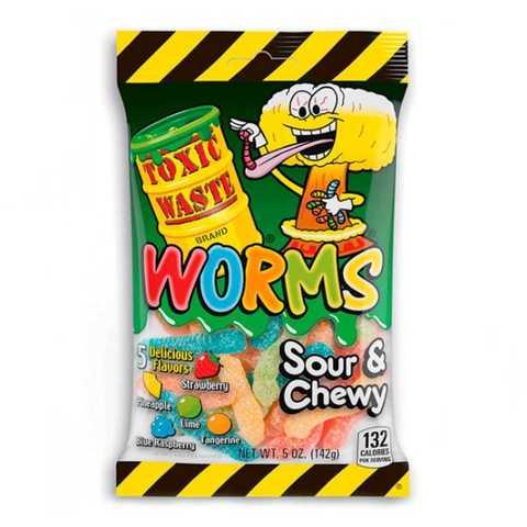 Кислый мармелад Toxic Waste Worms