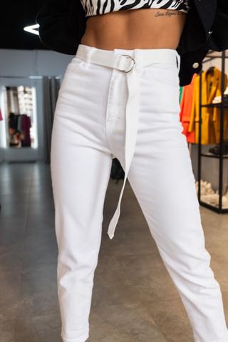 Штаны из белого хлопка недорого