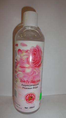 Аюрведическая розовая вода (Дэй ту Дэй Кэр), 200мл