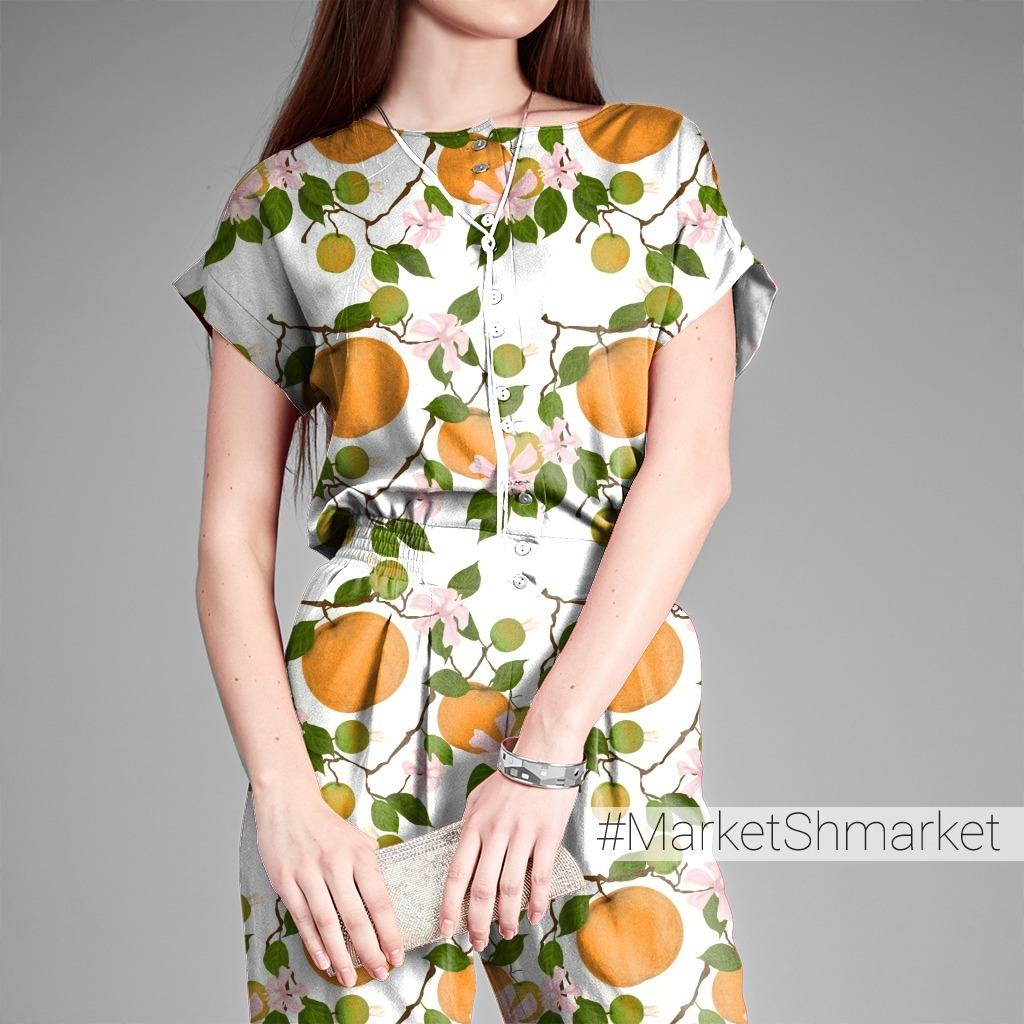 Апельсиновые ветки