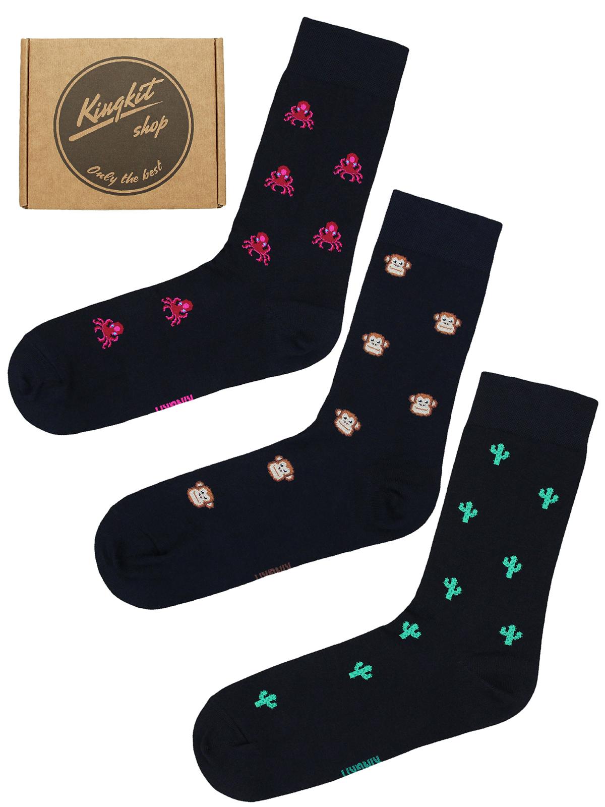 Набор Черных носков 3-75