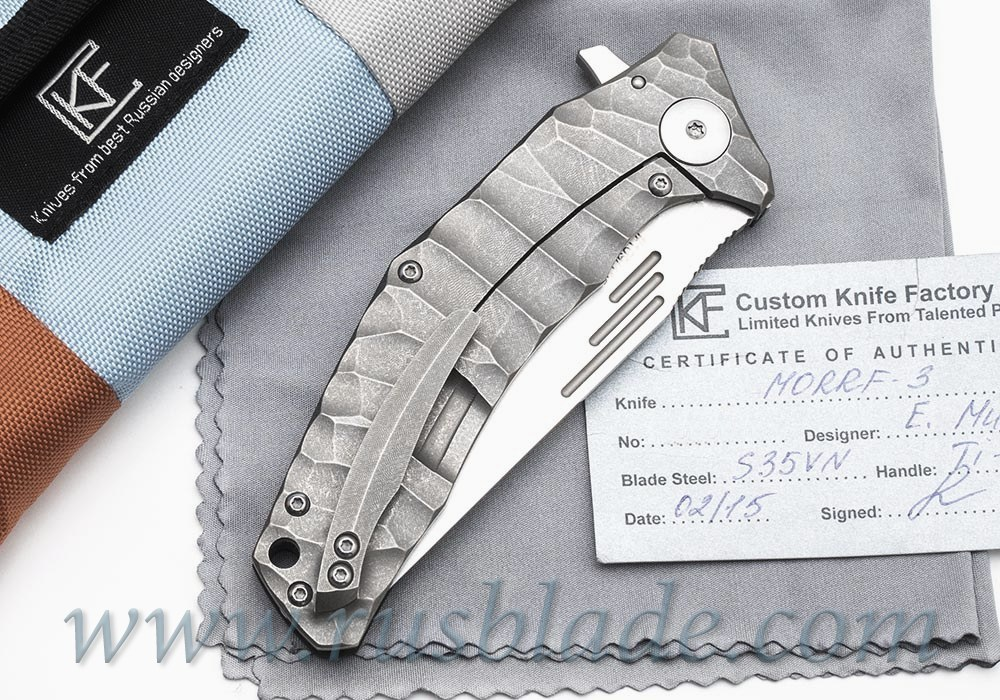 CKF Morrf-3 Knife Limited - фотография