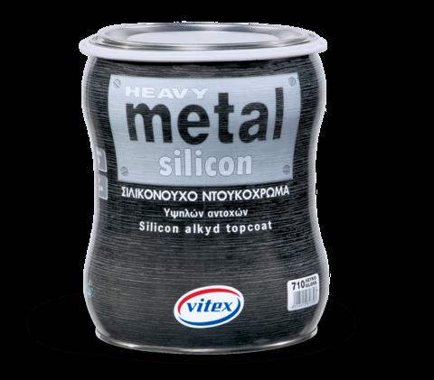 Cиликоновая антикоррозийная краска на растворителе высокой прочности-Metal Silicon.