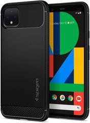 Чехол Spigen Rugged Armor для Google Pixel 4 Case (2019) - Matte Black