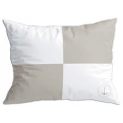 Santorini cushion set / flags II / beige