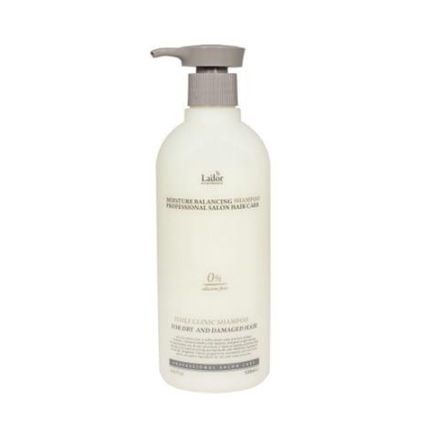 La'dor Увлажняющий бессиликоновый шампунь Moisture Balancing Shampoo 530мл