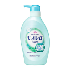 Жидкое мыло для тела Kao с шелковистой пудрой и освежающим цитрусовым ароматом 480 мл