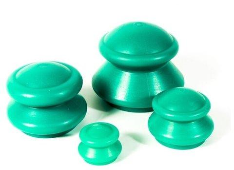 Банки для вакуумного массажа средней жесткости силиконовые ЭКО-5