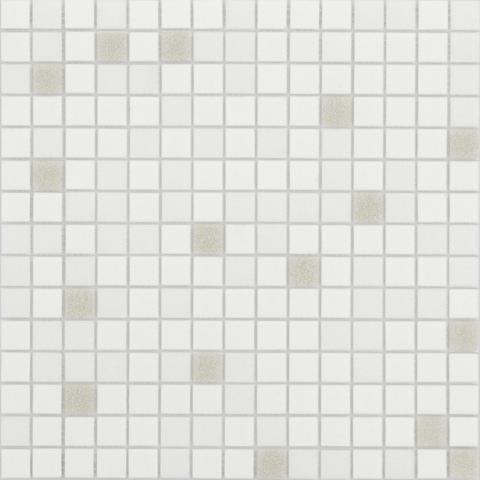 Мозаика LeeDo - Caramelle: Sabbia - Perla 32,7x32,7x0,4 см (чип 20x20x4 мм) - на бумажной основе