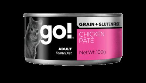 купить GO! Grain free chicken pate CF консервы беззерновые для кошек с курицей