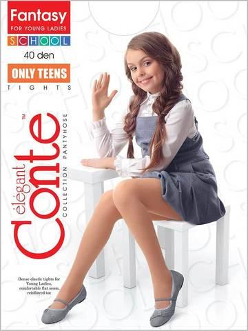 Колготки для девочек School Only Teens 40 Conte