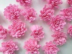 Цветок АСТРЫ из фоамирана 5,5 см.