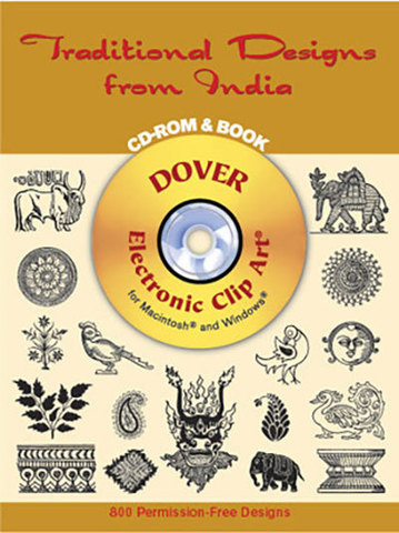 9780486995755 - Traditional Designs from India CD-ROM and Book