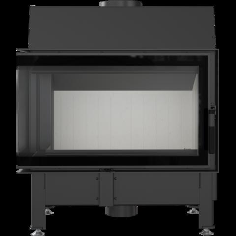 Каминная топка Kratki Zibi/L/BS/DECO (угловое стекло слева) (11 кВт)