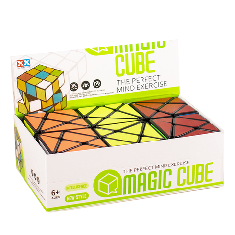 Кубик рубик разный 6 шт в уп.
