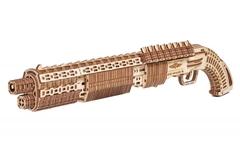Дробовик SG-12 Shotgun от Wood Trick - Деревянный конструктор, деревянное оружие, игрушка, сборная модель, 3D пазл