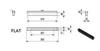 Биокамин Delta Flat схема топливного блока