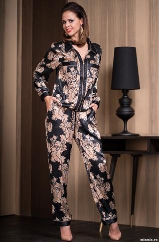 Комплект с брюками Mia-Amore 3306 GOLDEN FLOWER (70% нат.шелк)