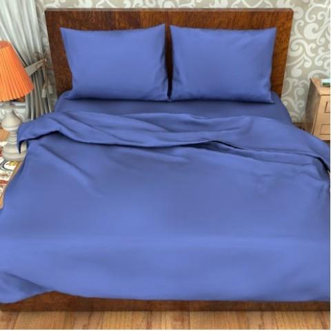 Поплин гладкокрашеный импортный 220 см 115 гр/м2 цвет синий