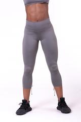 Женские лосины Nebbia lace-up 7/8 leggings 661 metal