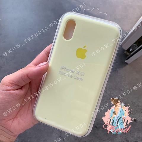 Чехол iPhone 6+/6S+ Silicone Case Full /mellow yellow/ волшебно-желтый