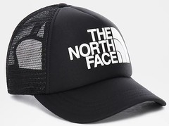 Кепка детская North Face Youth Logo Trucker black