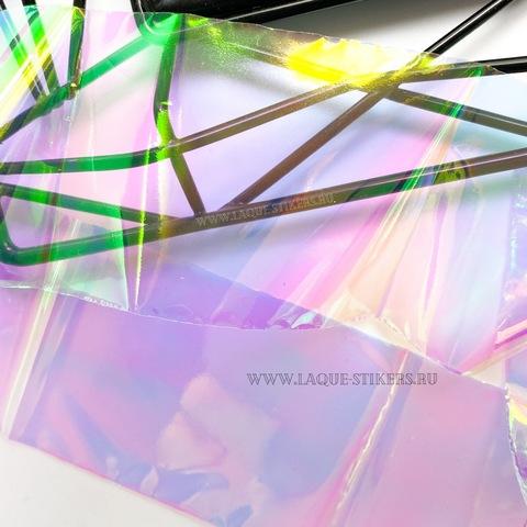 Битое стекло PINK - лента 0,5 метра (в пакете)