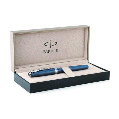 Parker Sonnet - Secret Blue Shell, перьевая ручка, F