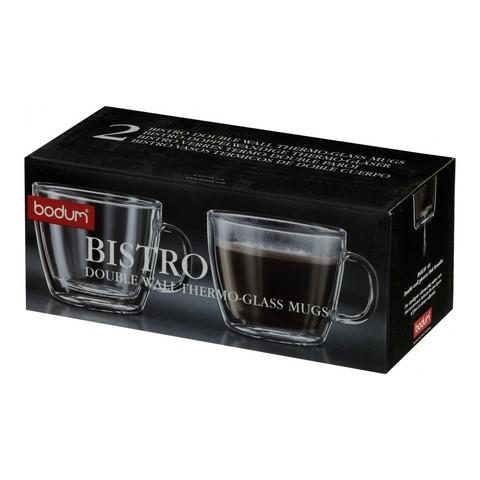 Набор кружек Bodum Bistro (2 шт. по 0,45 литра)