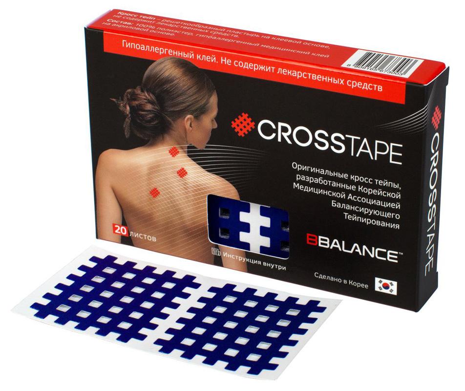BB-CROSS TAPE 4,9см. х 5,2см. (20 листов)