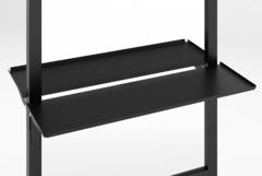 Зеркало MODUS с двумя подножками и блоком розеток