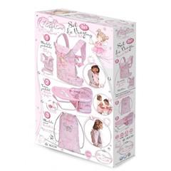 DeCuevas Набор для путешествий для кукол 3 в 1 в наборе с аксессуарами серии Мария (60034)