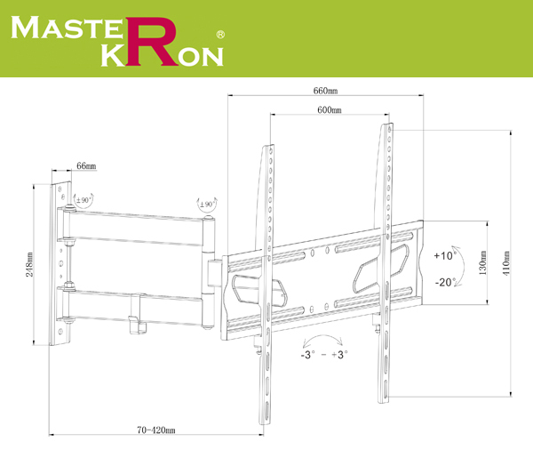 Кронштейн UPA52-463