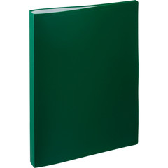 Папка файловая на 40 файлов Attache зеленая