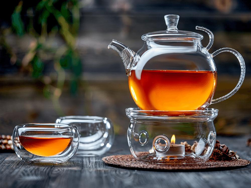 Наборы-Акции Стеклянный чайник с подогревом для свечи, 650 мл nabor_bosfor-teastar.png