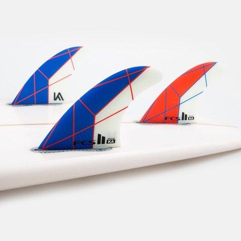 vFCS II KA PC Tri Retail Fins Blue/White Medium