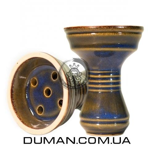 Чаша Gusto Bowls Killa Bowls Glaze II (Густо Болс Убивашка) Синий с зеленым