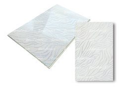 Панель ПВХ ДекоПласт коллекция Классик NEW Белый зебрано