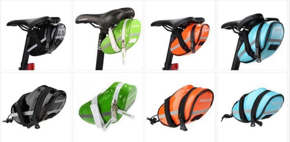 Кольори і кріплення велосипедної сумки під сідло Roswheel (13660-H)