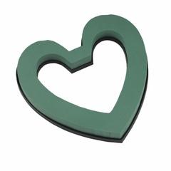 Оазис Сердце контурн. с фиксатором 21,5х22х3 см (в уп. 4 шт.)