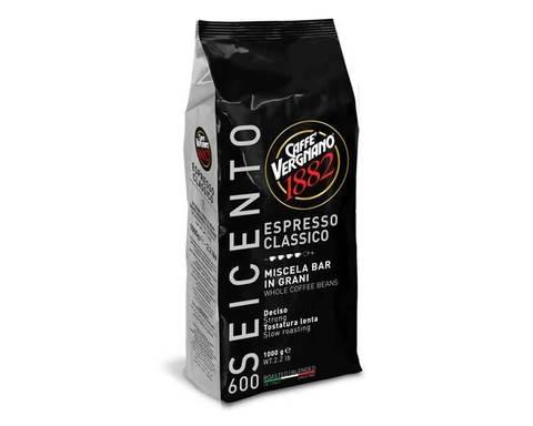 Кофе в зернах Vergnano Espresso Classico 600, 1 кг