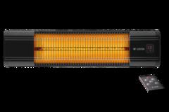 Инфракрасный карбоновый обогреватель luxeva LXV 2500 -HR black с пультом ДУ