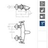Смеситель термостатический для ванны с изливом RS-CROSS 6239S - фото №2