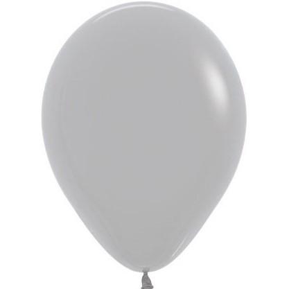 Латексный воздушный шар, цвет серый