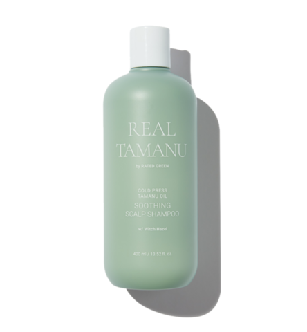 Rated Green Успокаивающий шампунь с маслом таману REAL TAMANU Tamanu Oil Soothing Scalp Shampoo w/ Witch Hazel