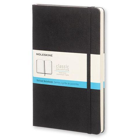 Блокнот Moleskine CLASSIC MM713 Pocket 90x140мм 192стр. пунктир твердая обложка черный